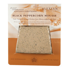 ALEXIAN BLACK PEPPERCORN MOUSSE PATE 5 OZ