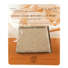 ALEXIAN GOOSE LIVER MOUSSE WITH PORT 5 OZ