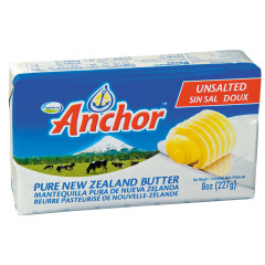 FONTERRA UNSALTED BUTTER 8 OZ