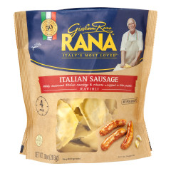 RANA ITALIAN SAUSAGE RAVIOLI 10 OZ POUCH