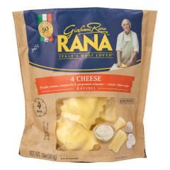 RANA FOUR CHEESE RAVIOLI 10 OZ POUCH