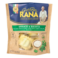 RANA SPINACH AND RICOTTA RAVIOLI 10 OZ POUCH