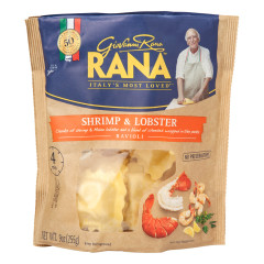 RANA SHRIMP AND LOBSTER RAVIOLI 9 OZ POUCH