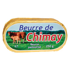 CHIMAY UNSALTED BUTTER 9 OZ
