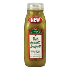 CINDY'S FRESH AVOCADO VINAIGRETTE DRESSING 16 OZ BOTTLE
