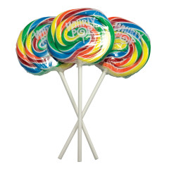 WHIRLY POP RAINBOW COLORS 3 INCH 1.5 OZ