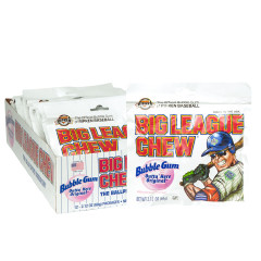 BIG LEAGUE CHEW ORIGINAL BUBBLEGUM 2.12 OZ POUCH