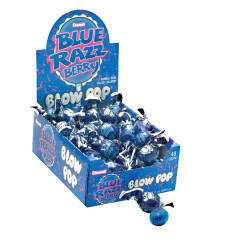 BLOW POP BLUE RAZZ