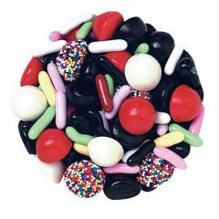 JELLY BELLY LICORICE BRIDGE MIX