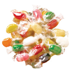 JELLY BELLY SUGAR FREE ASSORTED INDIVIDUALLY WRAPPED JELLY BEANS