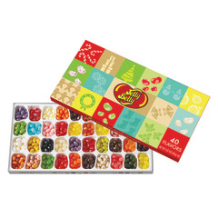 JELLY BELLY 40 FLAVOR JELLY BEANS 17 OZ CHRISTMAS GIFT BOX