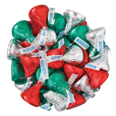 HERSHEY'S KISSES CHRISTMAS FOILS