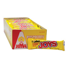 JOYVA JOYS CHOCOLATE COVERED RASPBERRY JELLE 1.5 OZ BAR