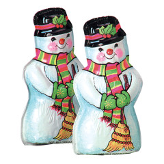 MADELAINE MILK CHOCOLATE SEMI SOLD SNOWMAN 1.5 OZ