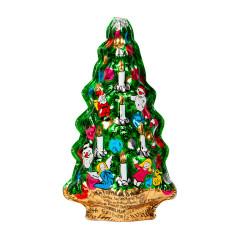 MADELAINE MILK CHOCOLATE SEMI SOLID CHRISTMAS TREE 2.5 OZ