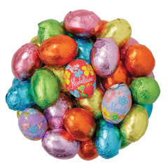 MADELAINE MILK CHOCOLATE FOILED EASTER EGGS