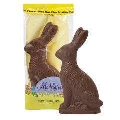 MADELAINE MILK CHOCOLATE SITTING RABBIT 15 OZ