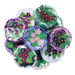 MADELAINE MILK CHOCOLATE FOILED VIOLETS