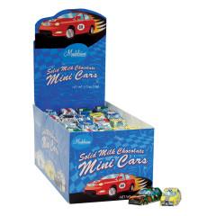 MADELAINE MINI MILK CHOCOLATE FOILED CARS 0.5 OZ