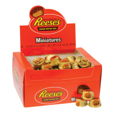 REESE'S PEANUT BUTTER CUPS 0.28 OZ