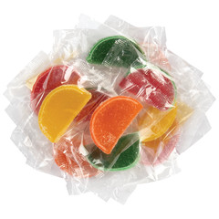 NASSAU CANDY WRAPPED ASSORTED FRUIT SLICES