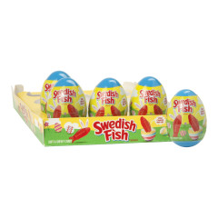 SWEDISH FISH PLASTIC EASTER EGG 1 OZ