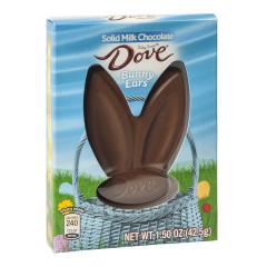 DOVE MILK CHOCOLATE BUNNY EARS 1.5 OZ BOX