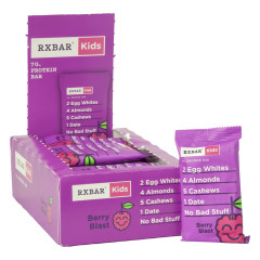 RX BAR KIDS BERRY BLAST 1.16 OZ PROTEIN BAR