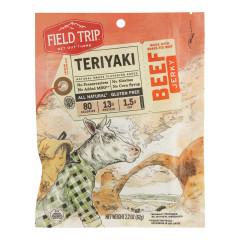 FIELD TRIP BEEF JERKY TERIYAKI 2.2 OZ
