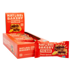 NATURE'S BAKERY PEACH APRICOT FIG BAR 2 OZ