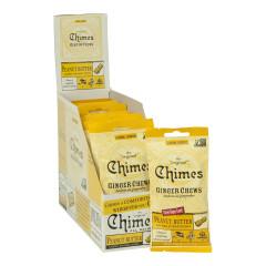 CHIMES PEANUT BUTTER GINGER CHEWS 1.5 OZ BAG