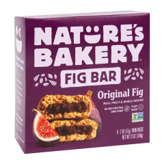 NATURE'S BAKERY FIG BAR 6 PC 12 OZ BOX
