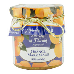 BRASWELL'S THE GIFT OF FLORIDA ORANGE MARMALADE 5 OZ JAR *FL DC ONLY*