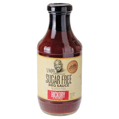 G HUGHES SUGAR FREE HICKORY BBQ SAUCE 18 OZ BOTTLE