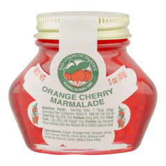 DOD ORANGE CHERRY MARMALADE 3 OZ JAR *FL DC ONLY*