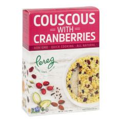 PEREG COUSCOUS WITH CRANBERRIES 5.6 OZ BOX