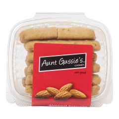 AUNT GUSSIE'S ALMOND BISCUITS 8 OZ TUB