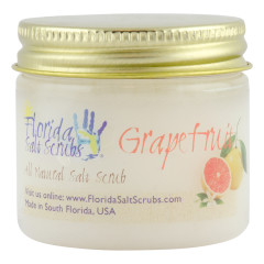 FLORIDA SALT SCRUBS GRAPEFRUIT SCRUB 12.1 OZ JAR *FL DC ONLY*