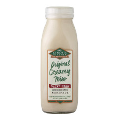 CINDY'S CREAMY MISO DRESSING 16 OZ BOTTLE