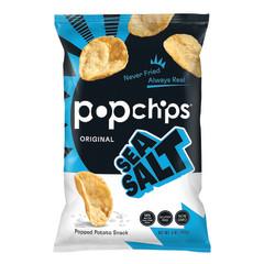 POPCHIPS SEA SALT POTATO CHIPS 5 OZ BAG