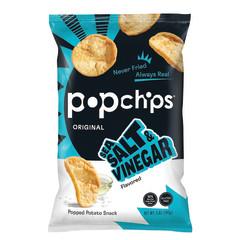 POPCHIPS SEA SALT AND VINEGAR POTATO CHIPS 5 OZ BAG