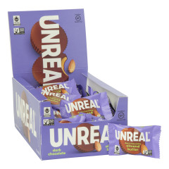 UNREAL DARK CHOCOLATE ALMOND BUTTER CUPS 0.53 OZ