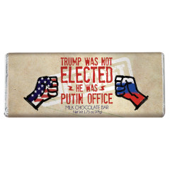 AMUSEMINTS TRUMP PUTIN OFFICE MILK CHOCOLATE 1.75 OZ BAR
