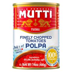 MUTTI FINELY CHOPPED TOMATOES 14 OZ CAN
