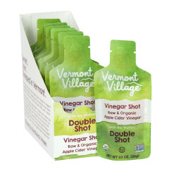 VERMONT VILLAGE VINEGAR DOUBLE SHOT 1 OZ