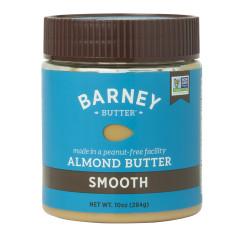 BARNEY BUTTER SMOOTH ALMOND BUTTER 10 OZ JAR