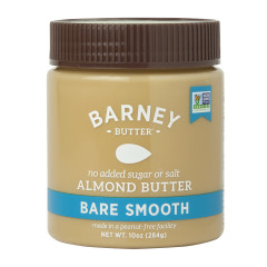 BARNEY BUTTER BARE SMOOTH ALMOND BUTTER 10 OZ JAR