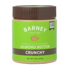 BARNEY BUTTER CRUNCHY ALMOND BUTTER 10 OZ JAR