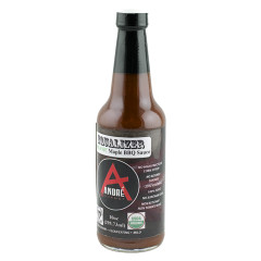 ANDRÉ ORGANIC EQUALIZER MAPLE BBQ SAUCE 10 OZ BOTTLE *FL DC ONLY*