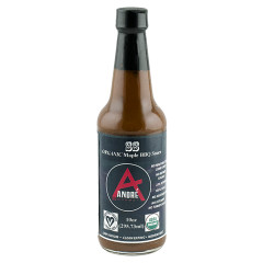 ANDRÉ ORGANIC MAPLE BBQ SAUCE 10 OZ BOTTLE *FL DC ONLY*